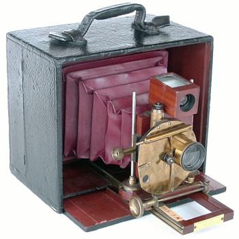 1891 Henry Clay Camera - a rare American camera - Cameras
