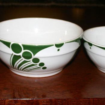 Dutch Bowls - set of 4 - China and Dinnerware