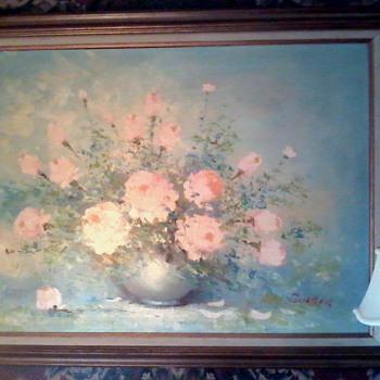 Mid Century Floral  - Fine Art