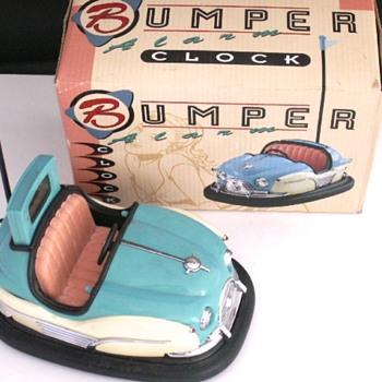 Bumper Car Alarm Clock - Clocks