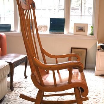 Antique Boston rocker or? - Furniture