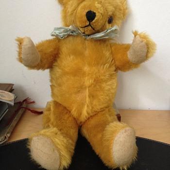 Antique Jointed Mohair Teddy Bear