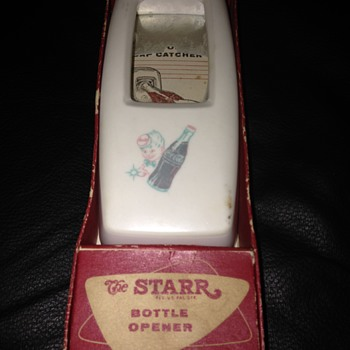 The STARR Bottle Opener / Cap Catcher (Sprite Boy) - Coca-Cola