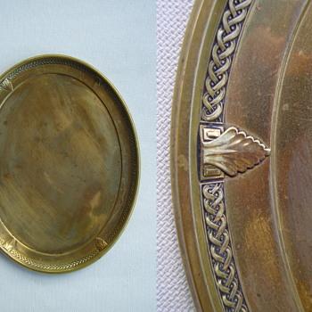 Bronze serving tray - Art Deco