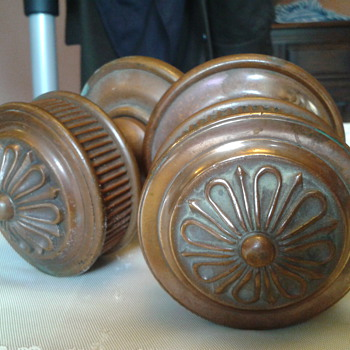 My very heavy, large brass door knobs - Tools and Hardware