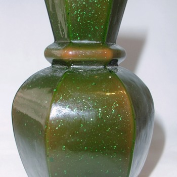 A New Welz Décor Identified!!  And On A Documented Shape!! - Art Glass