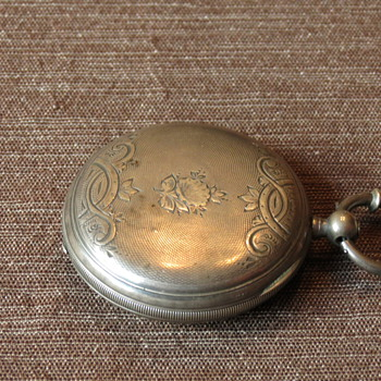 Swiss (LOCLE Mathey Perret) Hunter Pocket Watch - Pocket Watches