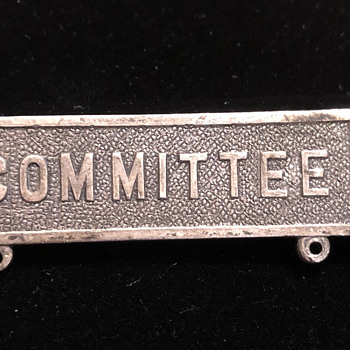 """COMMITTEE"" pin - Medals Pins and Badges"