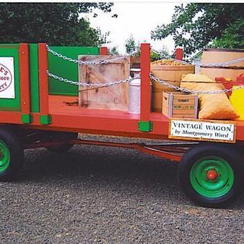 Montgomery Ward farm wagon