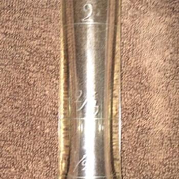 Bottle with measurements.. any ideas - Bottles