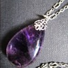 1920s British Arts & Crafts Big Amethyst Pendant, by Edith Linnell?