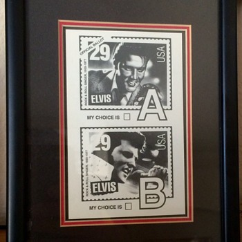 ELVIS official Ballot front the United States Postal Service