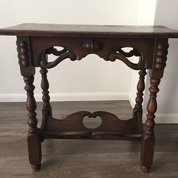 Antique Side Table - Furniture