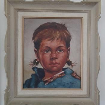 Portrait of a Girl - Fine Art