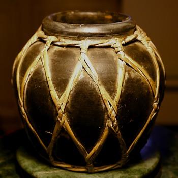 Asian Food Storage Jar?  - wrapped - Asian