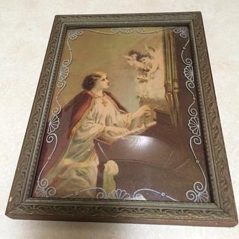 Vintage Saint Cecilia Print - Fine Art