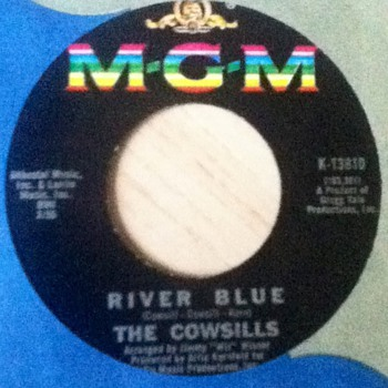 The Cowsills 45 Record
