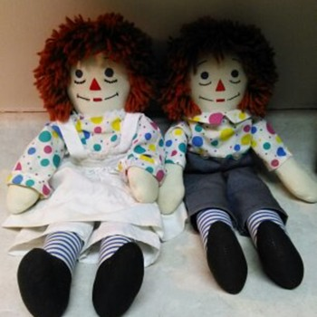 RAGGEDY ANN AND ANDY - Dolls