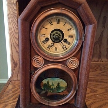 My great-grandfather's farm clock - Clocks