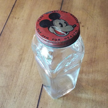Mickey Mouse Jam Jar Bank - Advertising