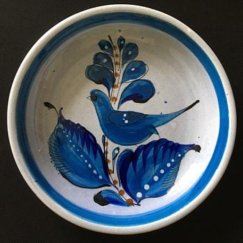 Vintage Native American bowl  - Native American