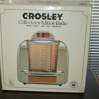 Crosley Collectors Edition Radio