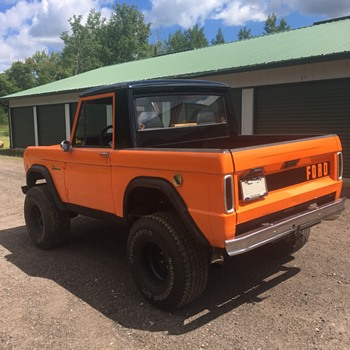 1966 Ford Bronco - Updated a Bit