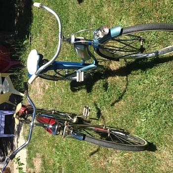 JC Higgins boys and girls bikes