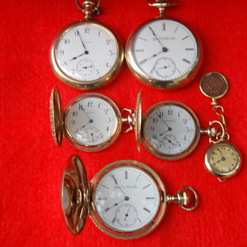 My Collection of Elgin's  - Pocket Watches