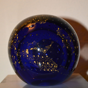 Celestial Paperweight - Art Glass