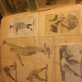 1921 Baseball Scrapbook &Cards - Baseball