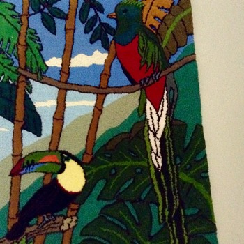 Toucans are Beautiful - Rugs and Textiles