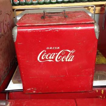 Acton Coca Cola Cooler