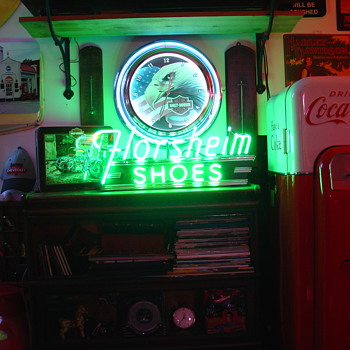 Florsheim Shoes...Neon Sign - Signs