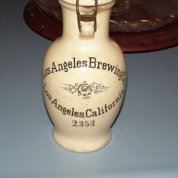 German Villeroy/Boch Stein made for Los Angeles Brewing Company