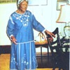 Queen of Strings in African American M-provisational Quilt making.