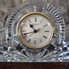 A Very Nice Waterford Lead Crystal Mantle Clock found in $1 Box Lot