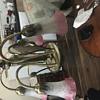 5 arm hanging lamp