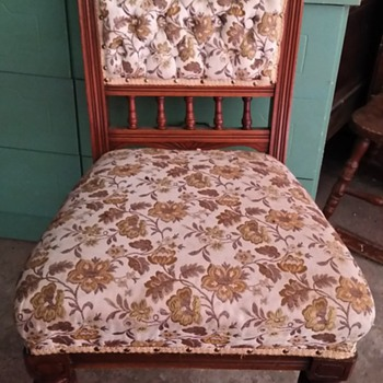 Love this chair that was my Grandmother's and my mother's.  - Furniture
