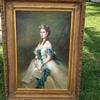 antique oil painting,  Portrait