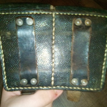 German Kar98 or Gewehr 98 ammo pouch - Military and Wartime
