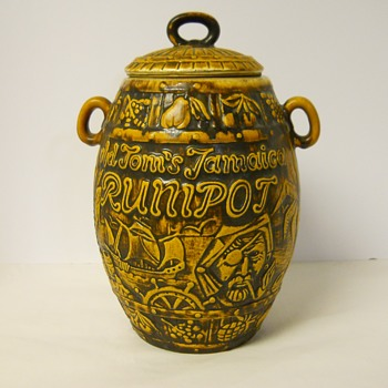 "Post 2 of 2, Western Germany Pottery, Bay""Rum Barrel"" Circa 1950-60 - Pottery"
