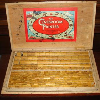 1932 Classroom Printer