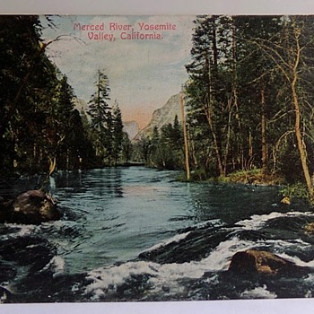 Yosemite, 1916. - Postcards