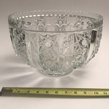 Need help with huge bowl - Glassware