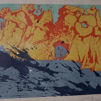 Salvador Dali (1904 - 1989) Title: Costa Brava - 1971 - Fine Art