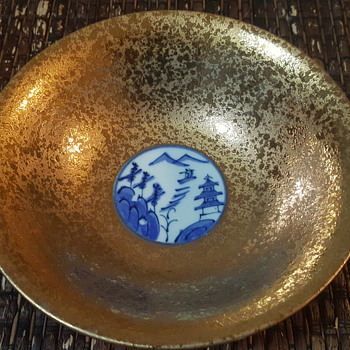 My gold Japanese bowl