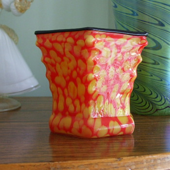 Is This Welz or Kralik Tango Vase? How Old Is it? - Art Glass