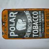 Polar Tobacco Door Push Porcelian