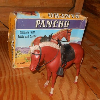 Marx Johnny West Pancho Pony - Toys